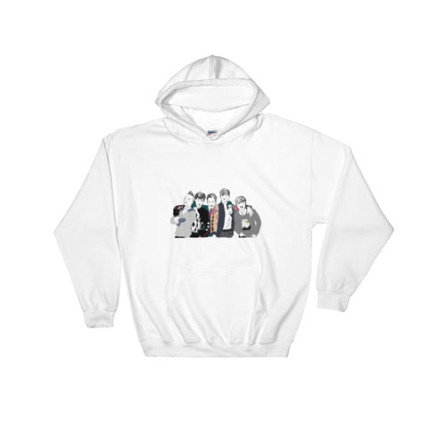 Big Bang White Hoodie Sweater (Unisex)