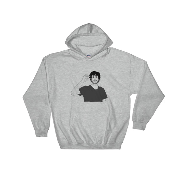 Lil Dicky Grey Hoodie Sweater (Unisex), Babes & Gents, Ottawa