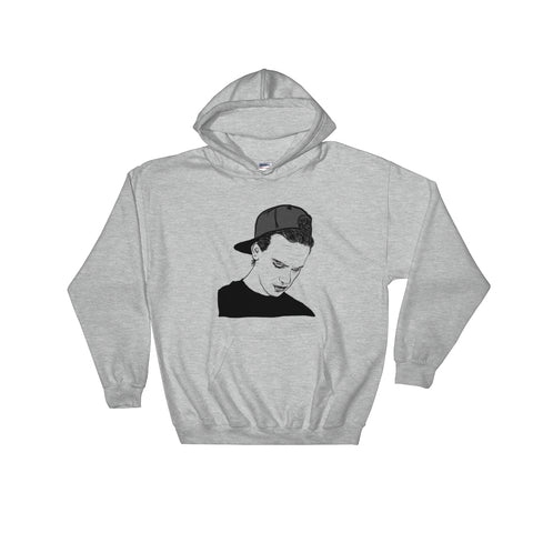 Logic Grey Hoodie Sweater (Unisex)