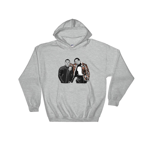 ASAP Rocky and ASAP Ferg A$AP Grey Hoodie Sweater (Unisex), Babes & Gents, Ottawa