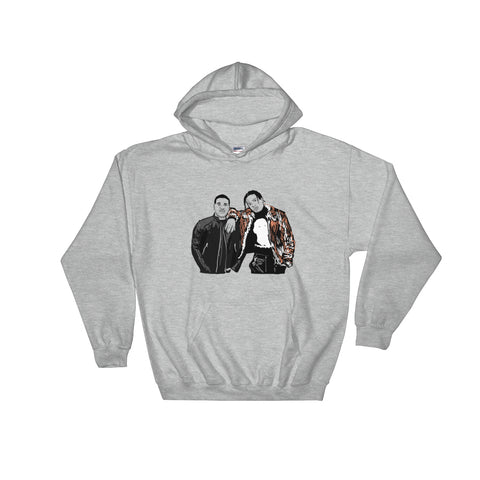 ASAP Rocky and ASAP Ferg A$AP Grey Hoodie Sweater (Unisex)