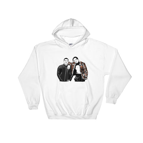 ASAP Rocky and ASAP Ferg A$AP White Hoodie Sweater (Unisex)