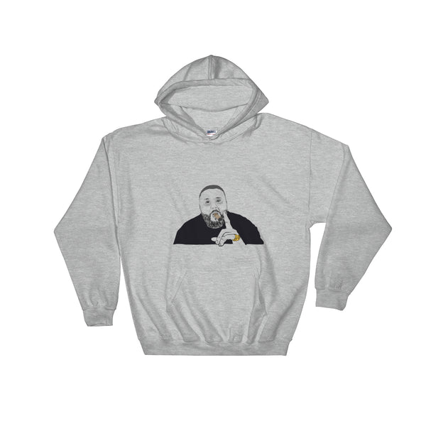 DJ Khaled Grey Hoodie Sweater (Unisex), Babes & Gents, Ottawa