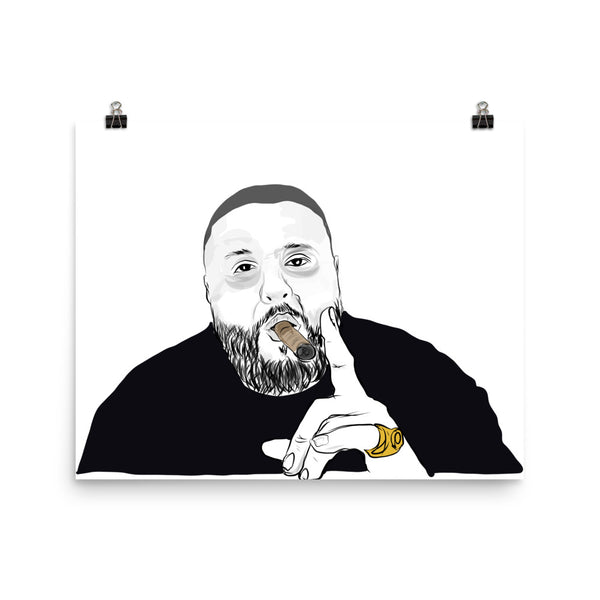 DJ KHALED 11x17 Art Poster
