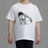 Ariana Grande Kids White Tee (Unisex) // Moonlight problem Focus My Everything // Babes & Gents // www.babesngents.com