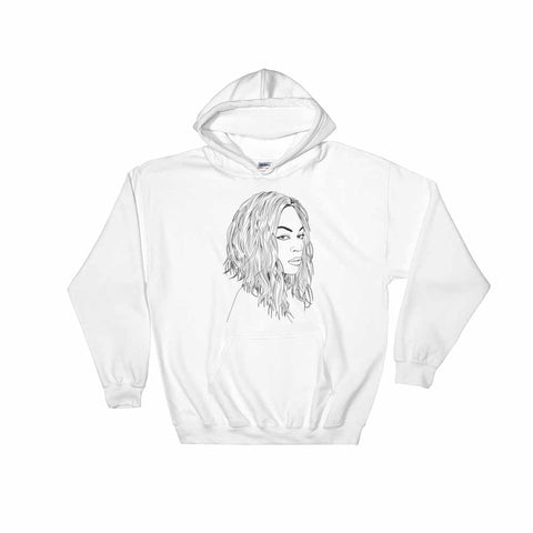 Beyonce White Hoodie Sweater (Unisex)