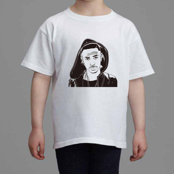 Big Sean Kids White Tee (Unisex) // IDFWU Blessings Dark Sky Paradise // Babes & Gents // www.babesngents.com