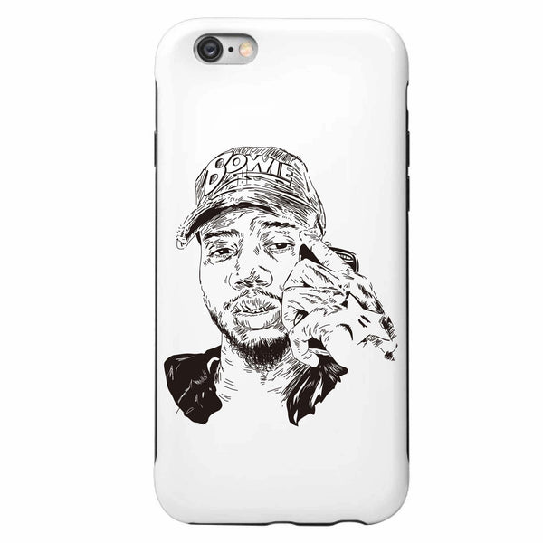 Bryson Tiller trapsoul Apple IPhone 4 5 5s 6 6s Plus Samsung Galaxy Cell phone Case // madness pen griffey // Babes & Gents // www.babesngents.com