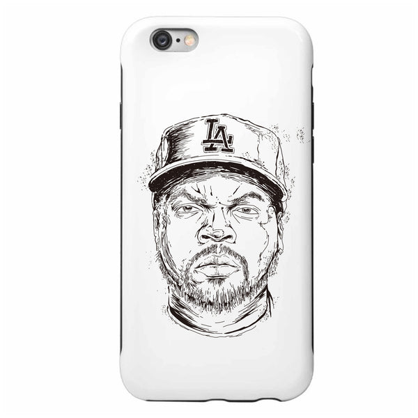 Ice Cube NWA Apple IPhone 4 5 5s 6 6s Plus Galaxy Case // hip hop // Babes & Gents // www.babesngents.com