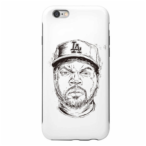 Ice Cube NWA Apple IPhone 4 5 5s 6 6s Plus Galaxy Case // hip hop