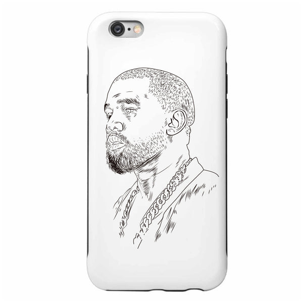 Kanye West Yeezus Apple IPhone 4 5 5s 6 6s Plus Galaxy Case // Yeezy Tour // Babes & Gents // www.babesngents.com