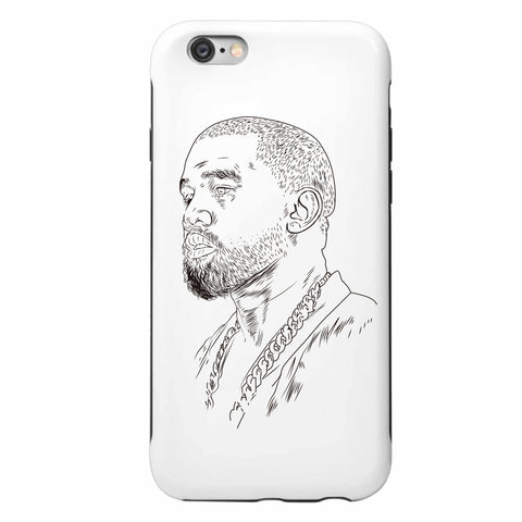 Kanye West Yeezus Apple IPhone 4 5 5s 6 6s Plus Galaxy Case // Yeezy Tour