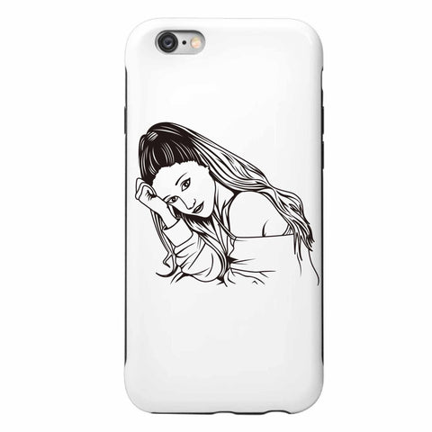 Ariana Grande Apple IPhone 4 5 5s 6 6s Plus Galaxy Case // Moonlight problem Focus My Everything