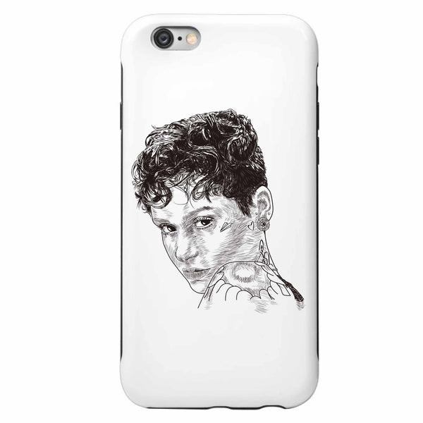 Kehlani Gangsta Apple IPhone 4 5 5s 6 6s Plus Galaxy Case // Babes & Gents // www.babesngents.com