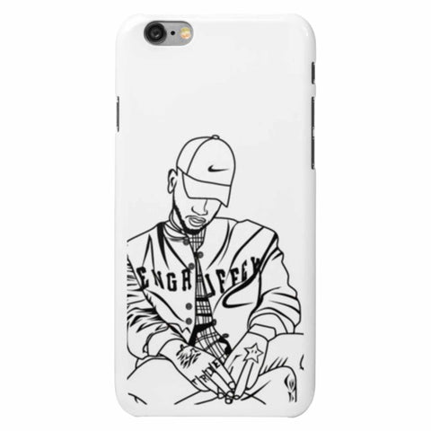 Bryson Tiller pen griffey trapsoul Apple IPhone 4 5 5s 6 6s Plus Samsung Galaxy Cell phone Case