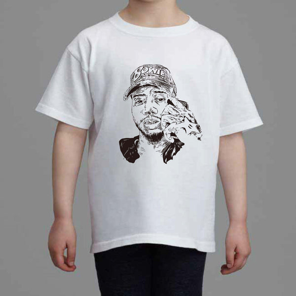 Bryson Tiller Kids White Tee (Unisex) // madness pen griffey trapsoul 2 // Babes & Gents // www.babesngents.com