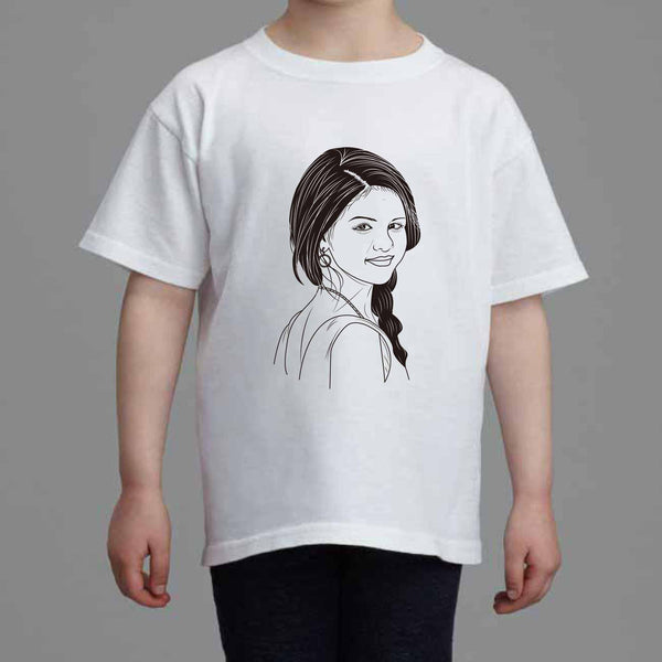 Selena Gomez Revival Kids White Tee (Unisex) // Babes & Gents // www.babesngents.com