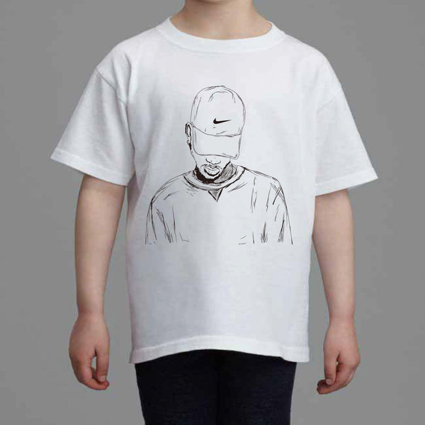 Bryson Tiller Kids White Tee (Unisex) // madness pen griffey trapsoul // Babes & Gents // www.babesngents.com