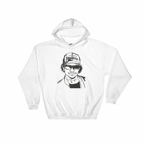 Eazy-E White Hoodie Sweater (Unisex)