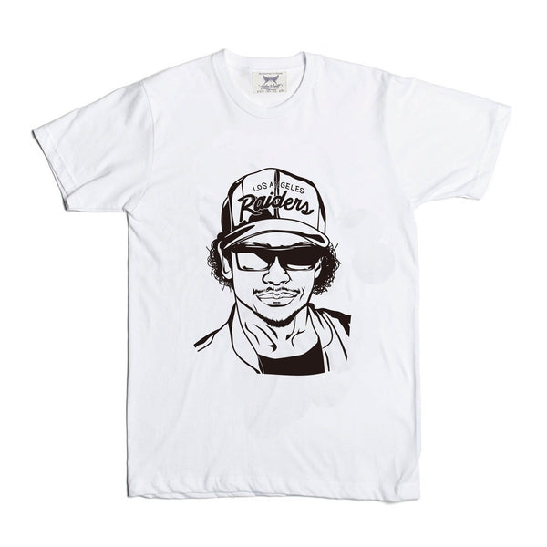 Eazy-E NWA White Tee (Unisex) // eazy e dr dre ice cube Hip Hop // T-shirt // Babes & Gents // www.babesngents.com
