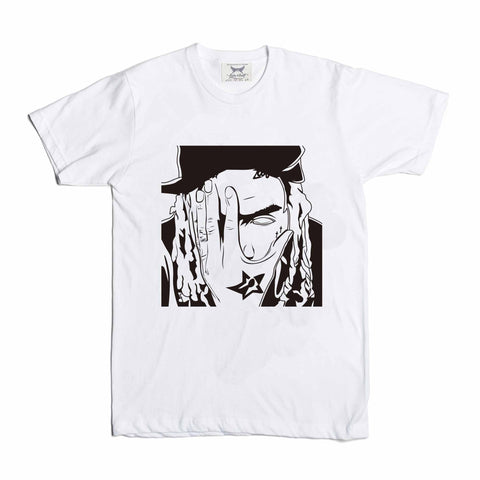 Fetty Wap White Tee (Unisex) // 1738 RemyBoyz Trap Queen Zoo