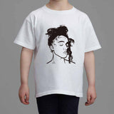 FKA Twigs Kids White Tee (Unisex) // M3LL155X LP1 British // Babes & Gents // www.babesngents.com