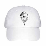 Nas White Hat/Cap