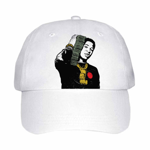 YoungBoy Never Broke Again White Hat/Cap