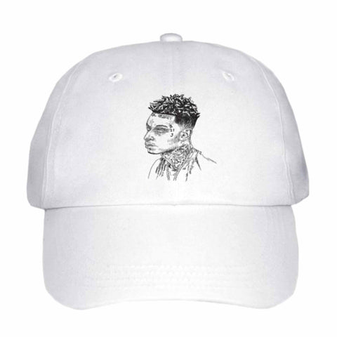 21 Savage mode White Hat/Cap