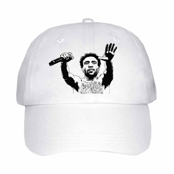 Childish Gambino 2 White Hat/Cap ,Babes & Gents, Ottawa, www.babesngents.com