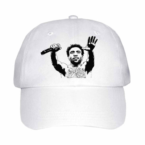 Childish Gambino 2 White Hat/Cap