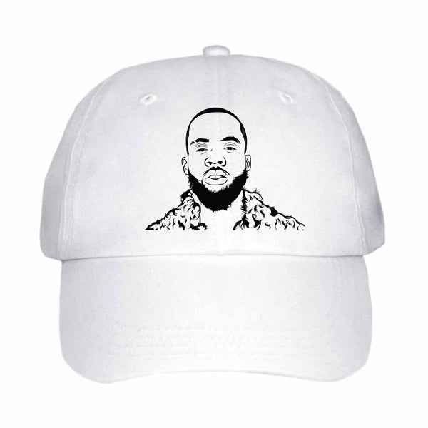 Tory Lanez I Told You Say White Hat/Cap
