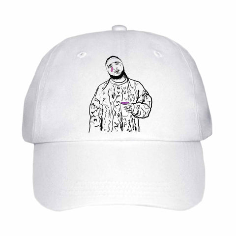 ASAP Yams A$AP Mob White Hat/Cap