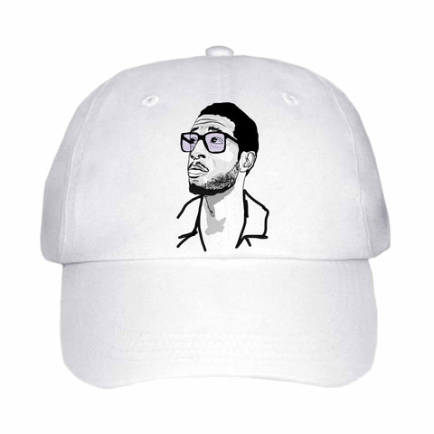 Kid Cudi 2 White Hat/Cap