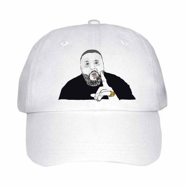 DJ Khaled White Hat/Cap