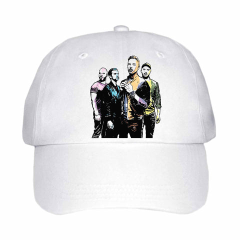 Coldplay 2 White Hat/Cap