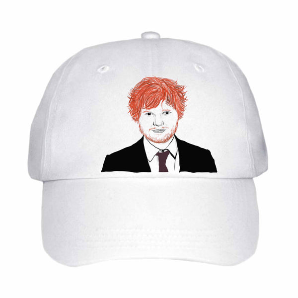 Ed Sheeran White Hat/Cap