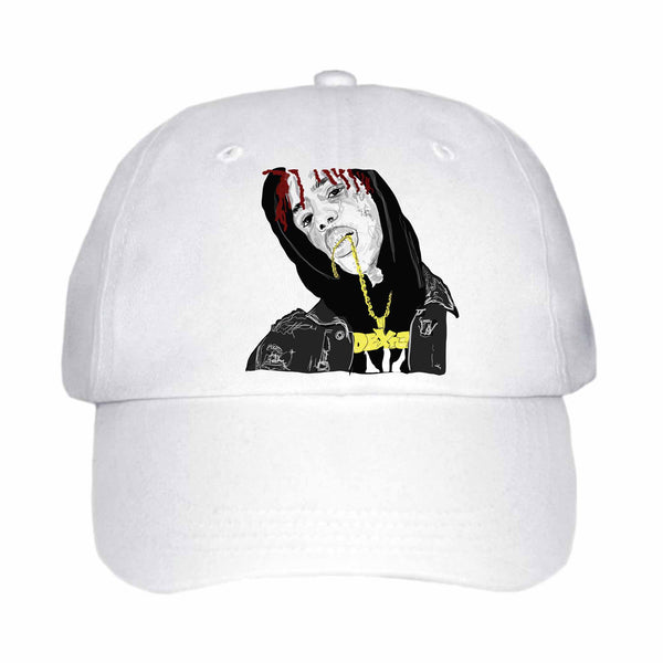 Famous Dex White Hat/Cap