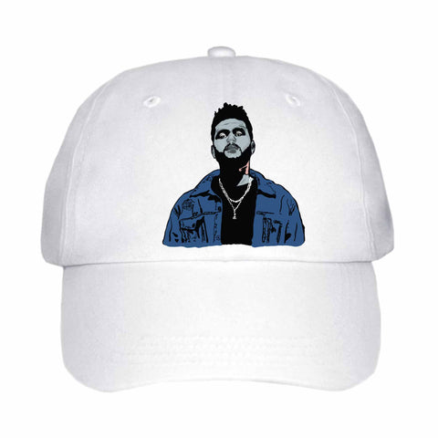 The Weeknd White Hat/Cap