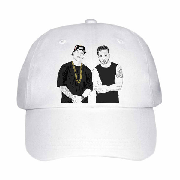 Luis Fonsi and Daddy Yankee Despacito White Hat/Cap
