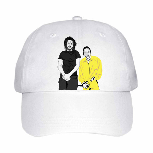 Jcole and Kendrick Lamar White Hat/Cap