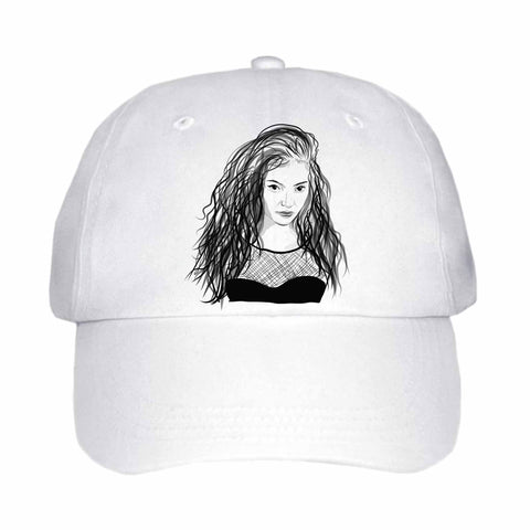 Lorde White Hat/Cap