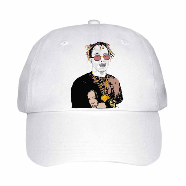 Rich the Kid White Hat/Cap
