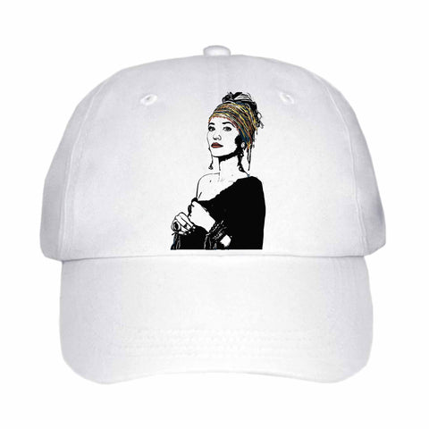 Lauren Daigle White Hat/Cap