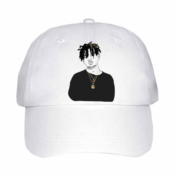 Smoke Purpp White Hat/Cap