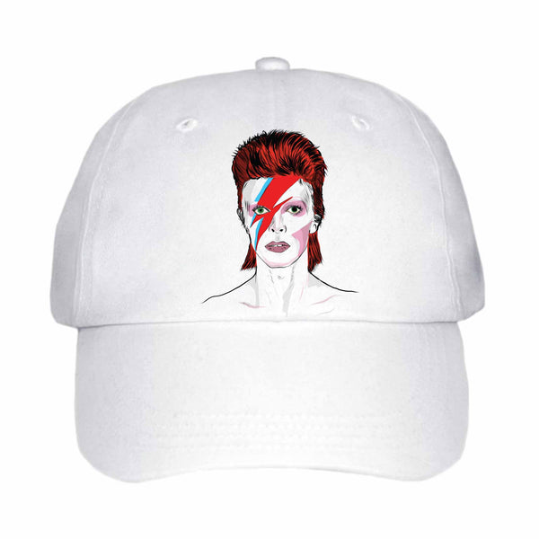 David Bowie White Hat/Cap
