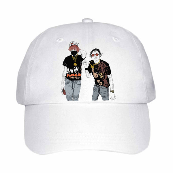 Famous Dex and Rich the Kid White Hat/Cap