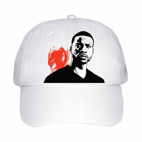Jay Rock White Hat/Cap