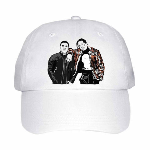 ASAP Rocky and ASAP Ferg A$AP White Hat/Cap