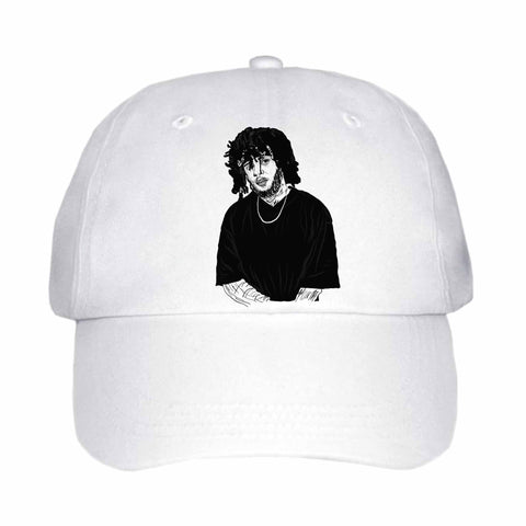 6LACK White Hat/Cap